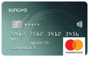 Sunova world mastercard
